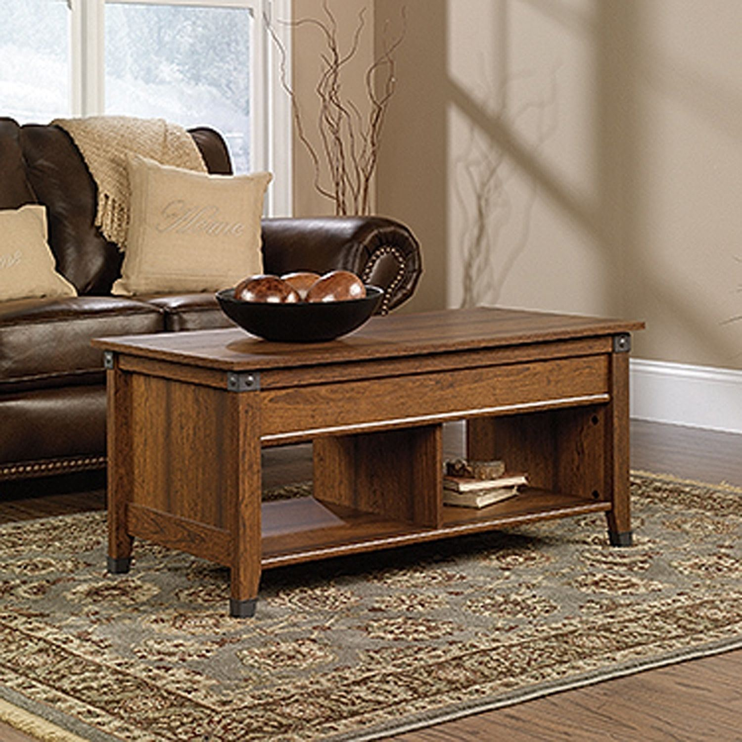 Picture of Carson Forge Lift-Top Coffee Table Washington Cher