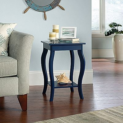 Picture of Harbor View Side Table Indigo Blue * D