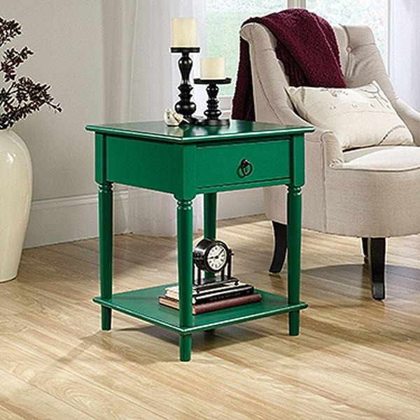 Picture of Palladia Side TableEmerald Green * D