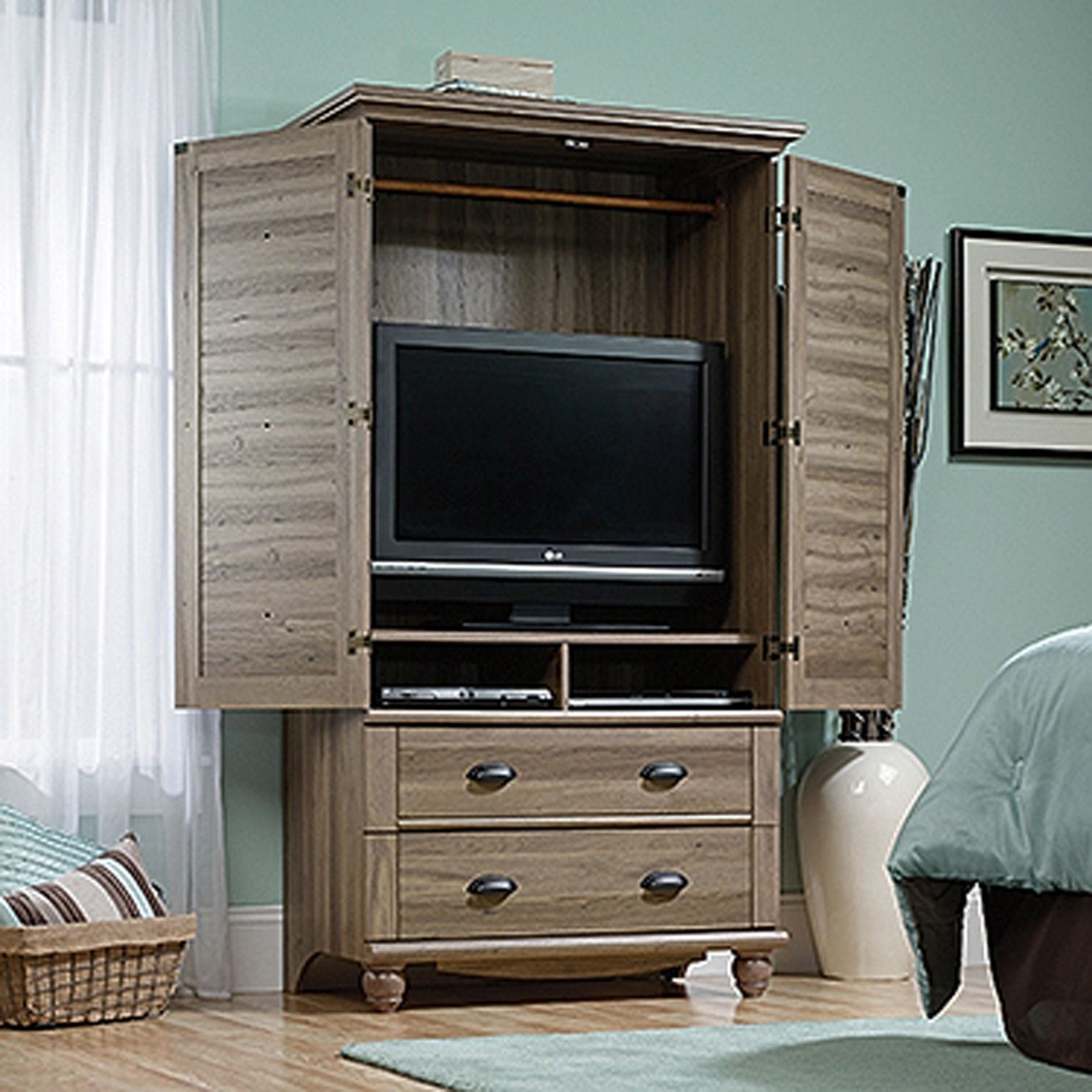Picture of Harbor View Armoire Salt Oak * D