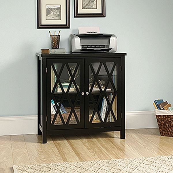 Picture of Harbor View Accent Storage Cabinet Black * D