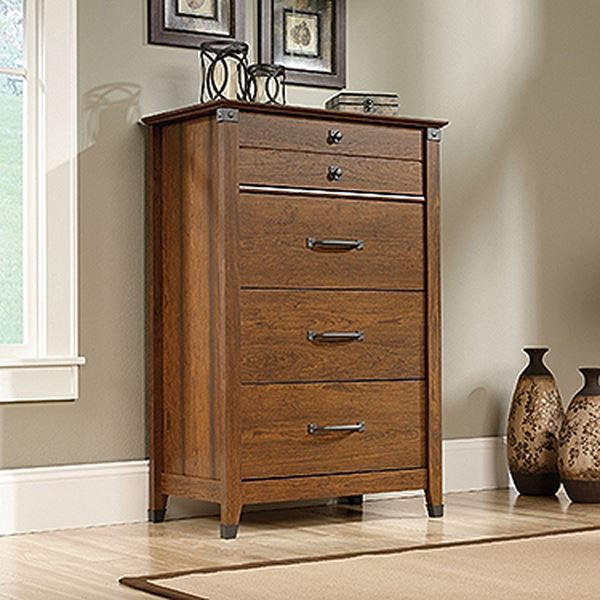 Picture of Carson Forge 4-Drawer Chest Washington Cherry * D