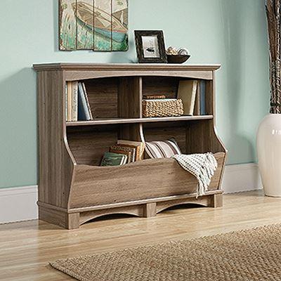 Picture of Harbor View Bin Bookcase Salt Oak * D