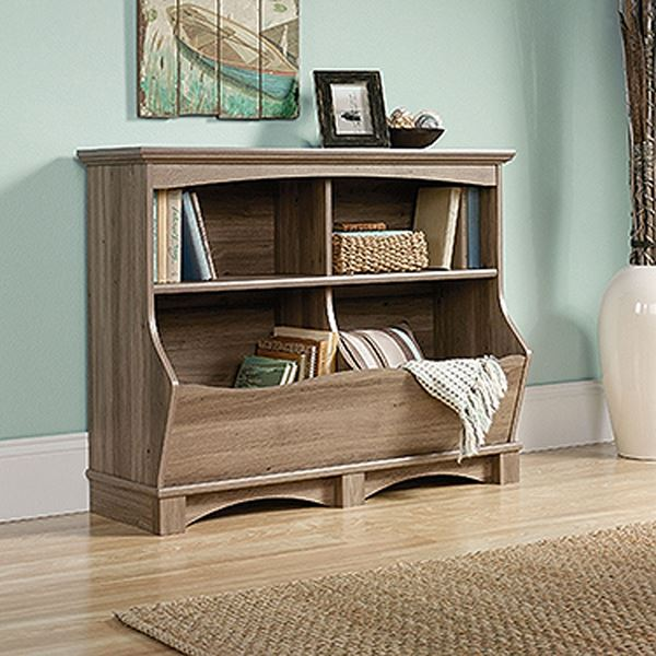 Picture of Harbor View Bin Bookcase Salt Oak * D