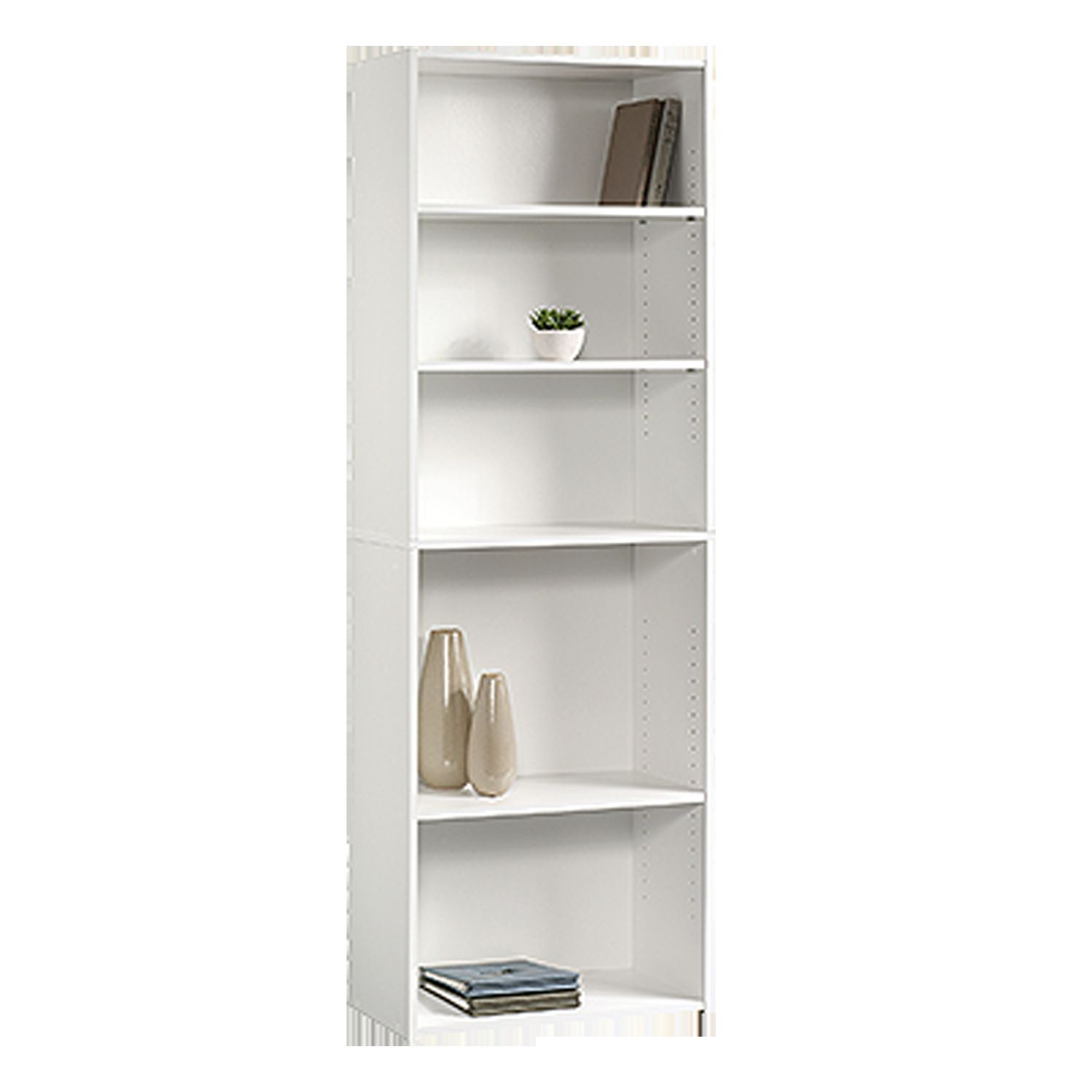 Picture of Beginnings 5-Shelf Bookcase Soft White * D