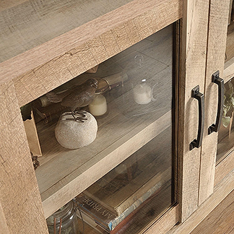 Picture of Cannery Bridge Display Cabinet Lintel Oak * D