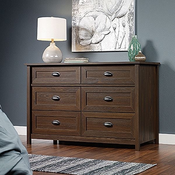 Picture of County Line Dresser Rum Walnut * D
