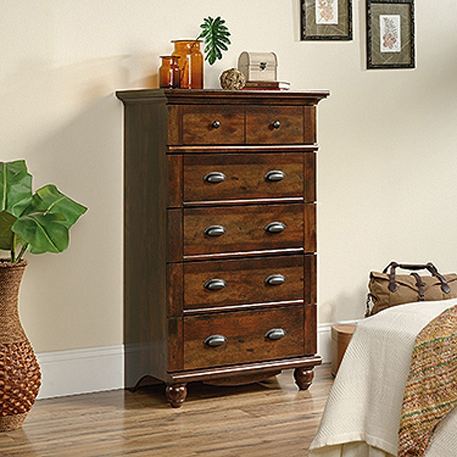 Picture of Harbor View 5-Drawer Chest Curado Cherry * D