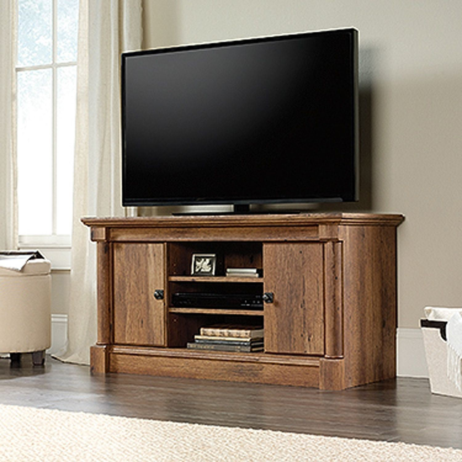 Picture of Palladia Panel Tv Stand Vintage Oak * D