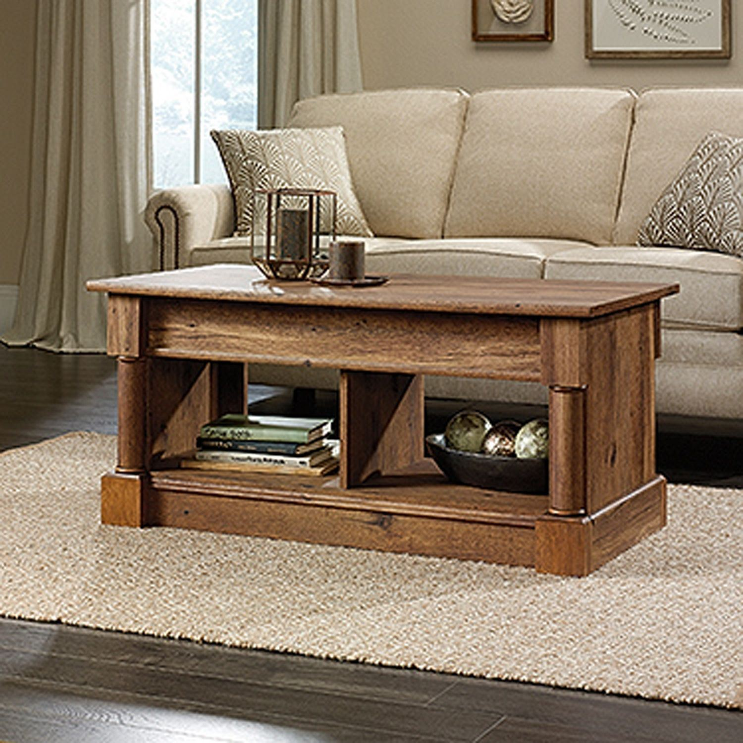 Phenomenal Palladia Lift Top Coffee Table Vintage Oak D Pabps2019 Chair Design Images Pabps2019Com