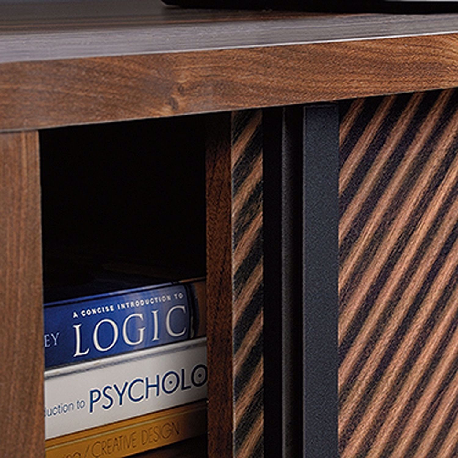 Picture of Harvey Park Entertainment Credenza Grand Walnut *