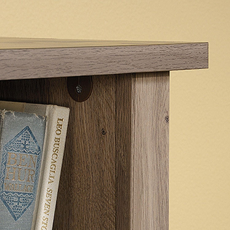 Picture of County Line Full/Queen Bookcase Headboard Salt Oak