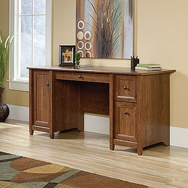 Picture of Edge Water Computer Desk Auburn Cherry * D