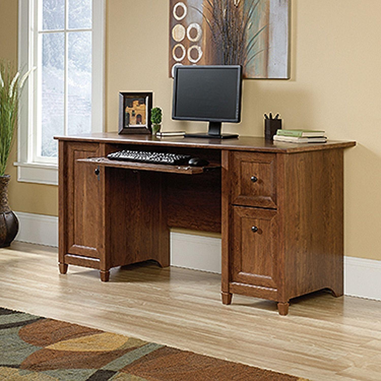 Picture of Edge Water Computer Desk Auburn Cherry * D