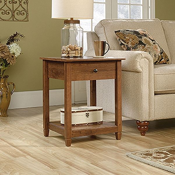 Picture of Edge Water Side Table Auburn Cherry * D
