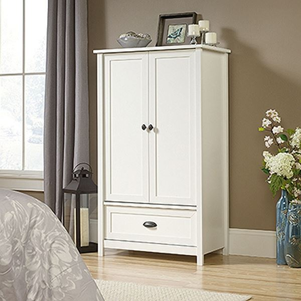 Picture of County Line Armoire Soft White * D