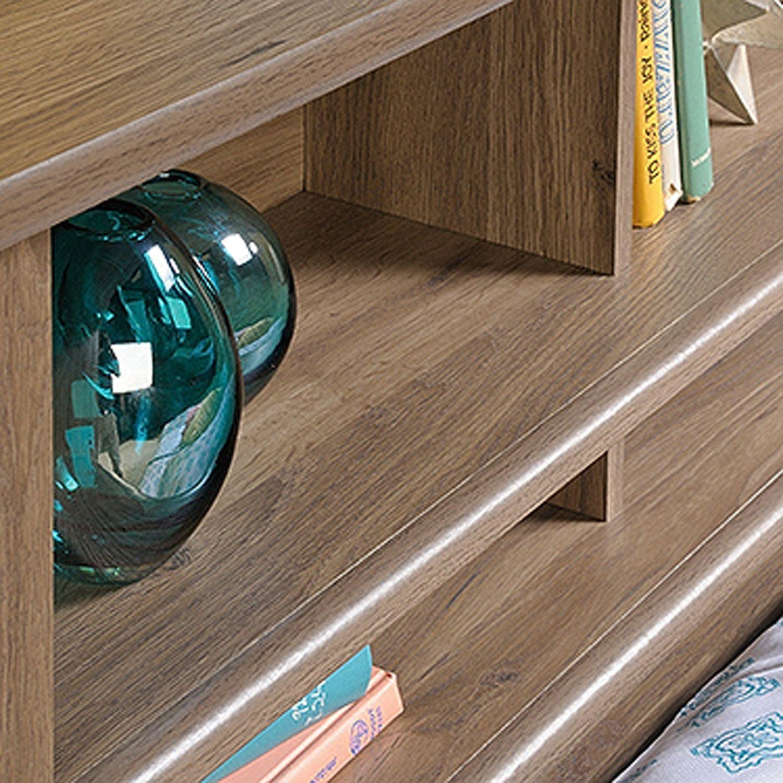 Picture of County Line Twin Bookcase Headboard Salt Oak * D