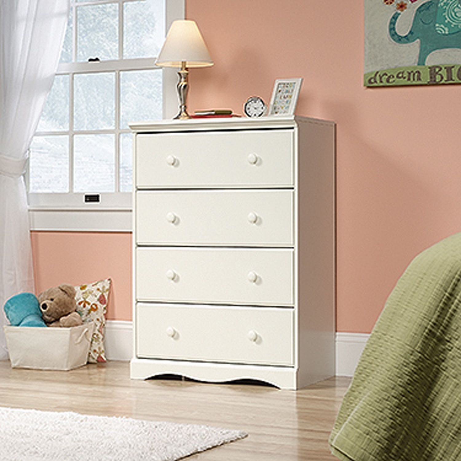 Picture of Pogo 4-Drawer Chest Soft White * D