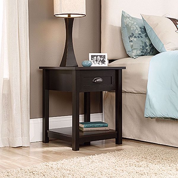 Picture of County Line Night Stand Estate Black * D