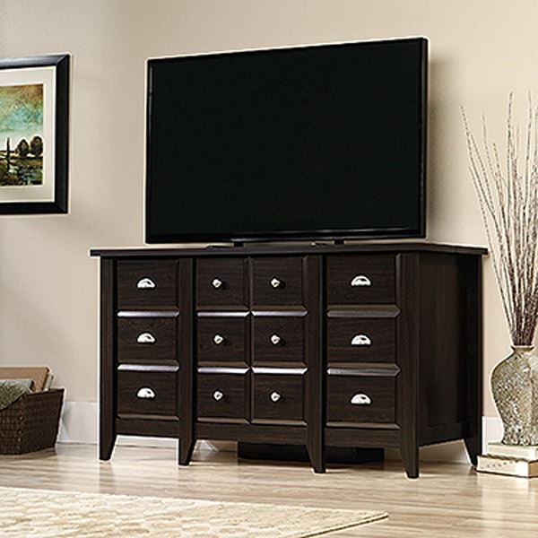 Picture of Shoal Creek Ent Credenza Jamocha Wood * D