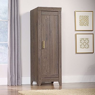Picture of Adept Storage Narrow Storage Cabinet Fossil Oak *
