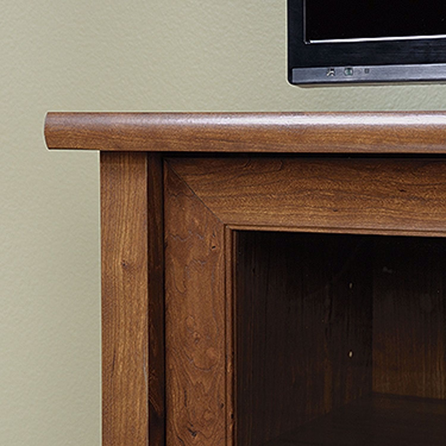 Picture of Edge Water Entertainment Credenza Auburn Cherry *