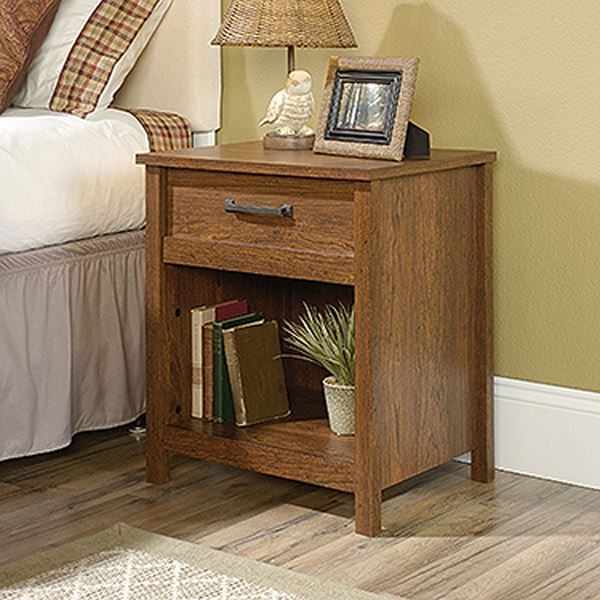 Picture of Cannery Bridge Night Stand Milled Cherry * D