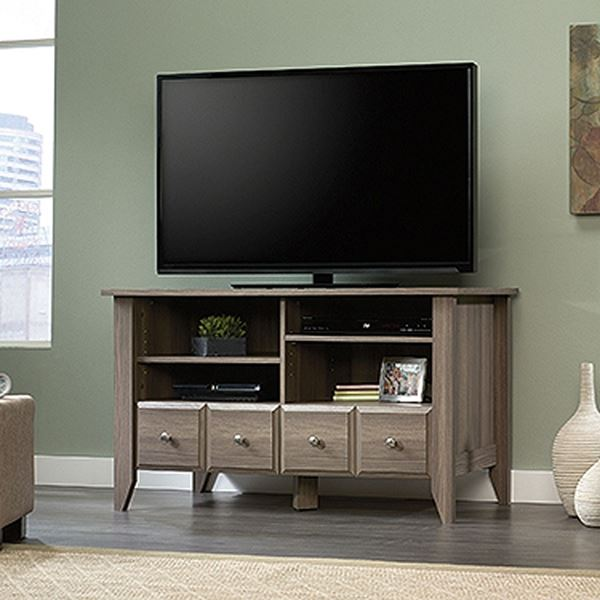 Picture of Shoal Creek Panel Tv Stand Diamond Ash * D