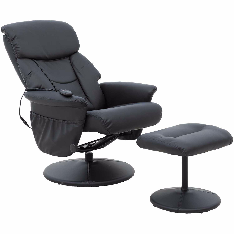 Black Heated Shiatsu Massage Chair Ess 7050m Ofm