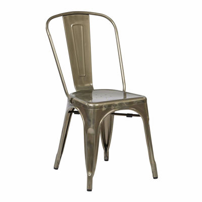 Picture of Bristow Gunmetal Armless Chair, 2-Pack *D