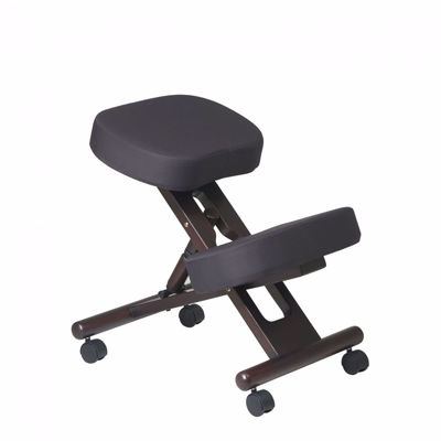 Picture of Black Ergonomic Knee Chair KCW778 *D