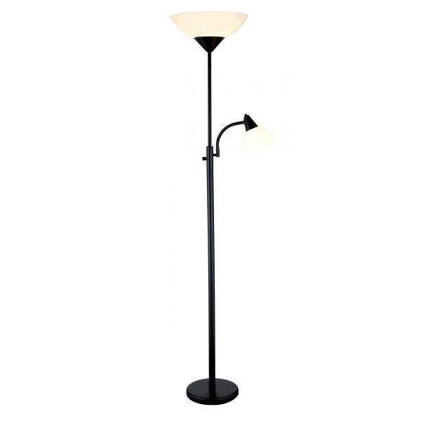 Black Torchierer Floor Lamp 101 7202blk