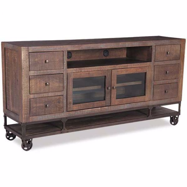 "Picture of Urban Gold 76"" TV Stand"