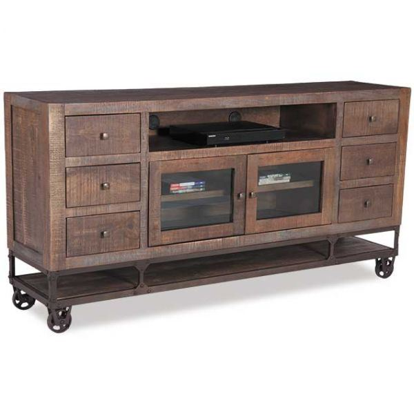 """Picture of Urban Gold 76"""" TV Stand"""
