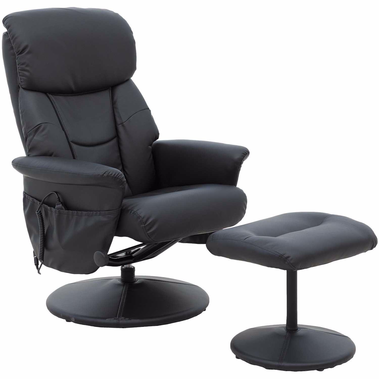Picture of Black Heated Shiatsu Massage Chair