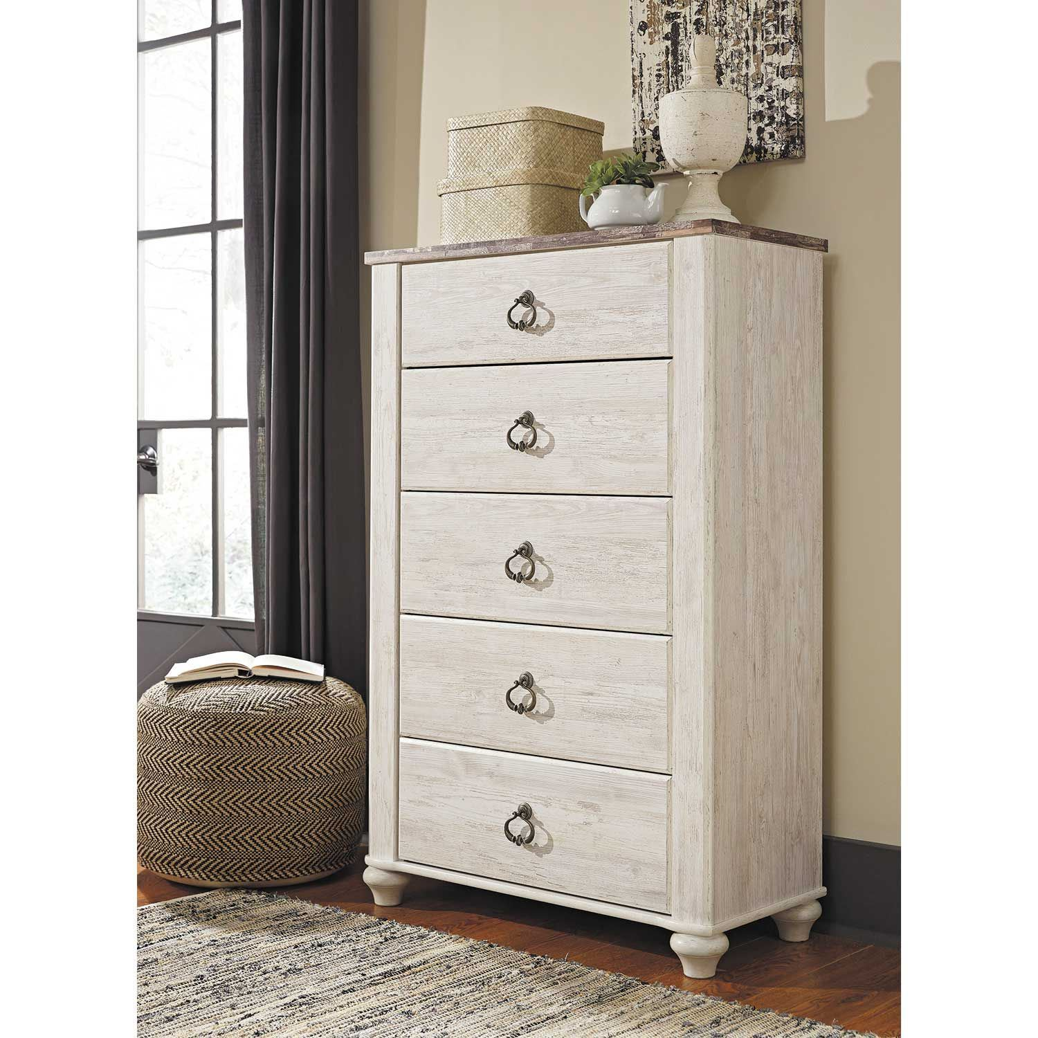 Picture of Willowton 5 Drawer Chest