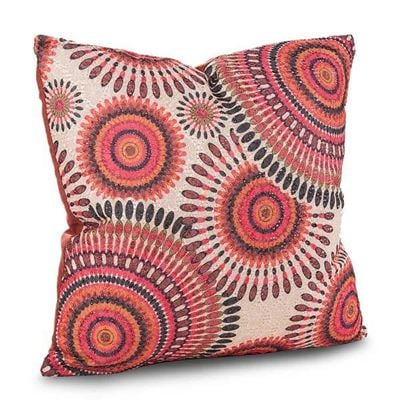 Picture of 15x15 Sun Spirit Orange Pillow *P