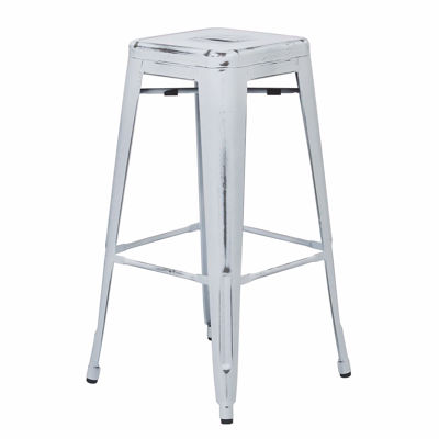Picture of Bristow Ant White Barstool 2 Pack *D