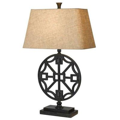 Picture of Industrial Wheel 29in Table Lamp