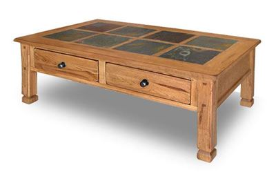 Picture of Sedona Rustic Oak Cocktail Table