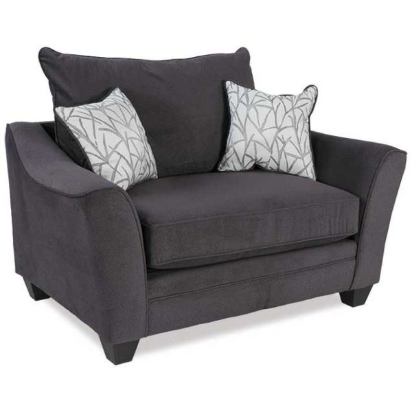 Picture of Flannel Seal Chair and a Half