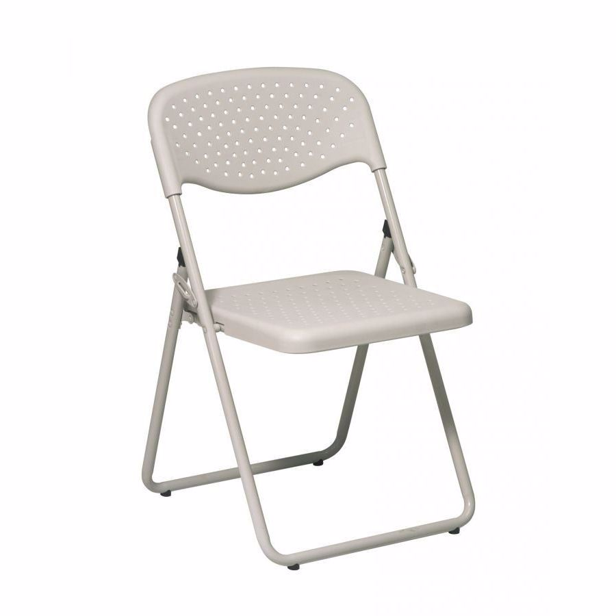 Pleasant Beige Plastic Seat And Back Folding Chair 4 Pack D Ocoug Best Dining Table And Chair Ideas Images Ocougorg