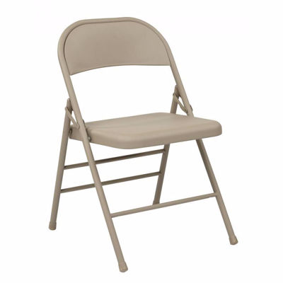 Picture of Folding Chair with Metal Seat and Back *D