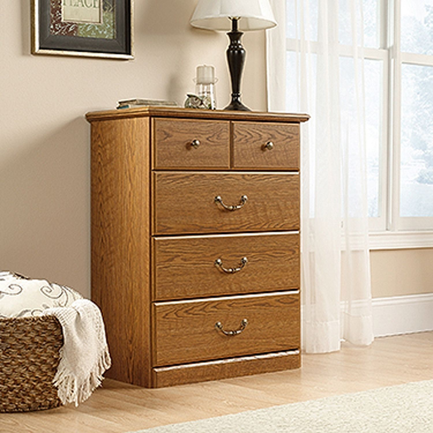Picture of Orchard Hills 4-Drawer Chest Carolina Oak * D