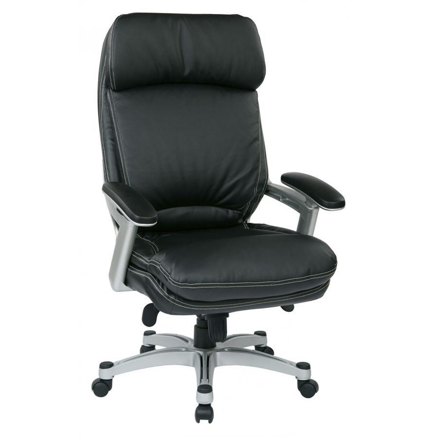 Stupendous Black Bonded Leather Office Chair Oph62606 Ec3 D Pabps2019 Chair Design Images Pabps2019Com