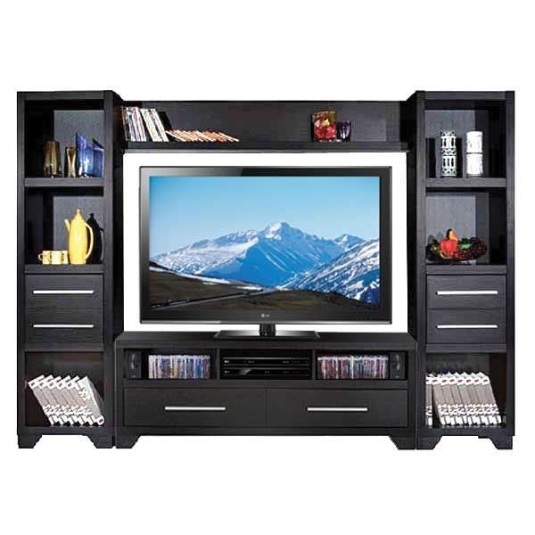 Picture of Black Entertainment Wall Unit