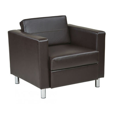 Picture of Pacific Esp Leather Armchair *D