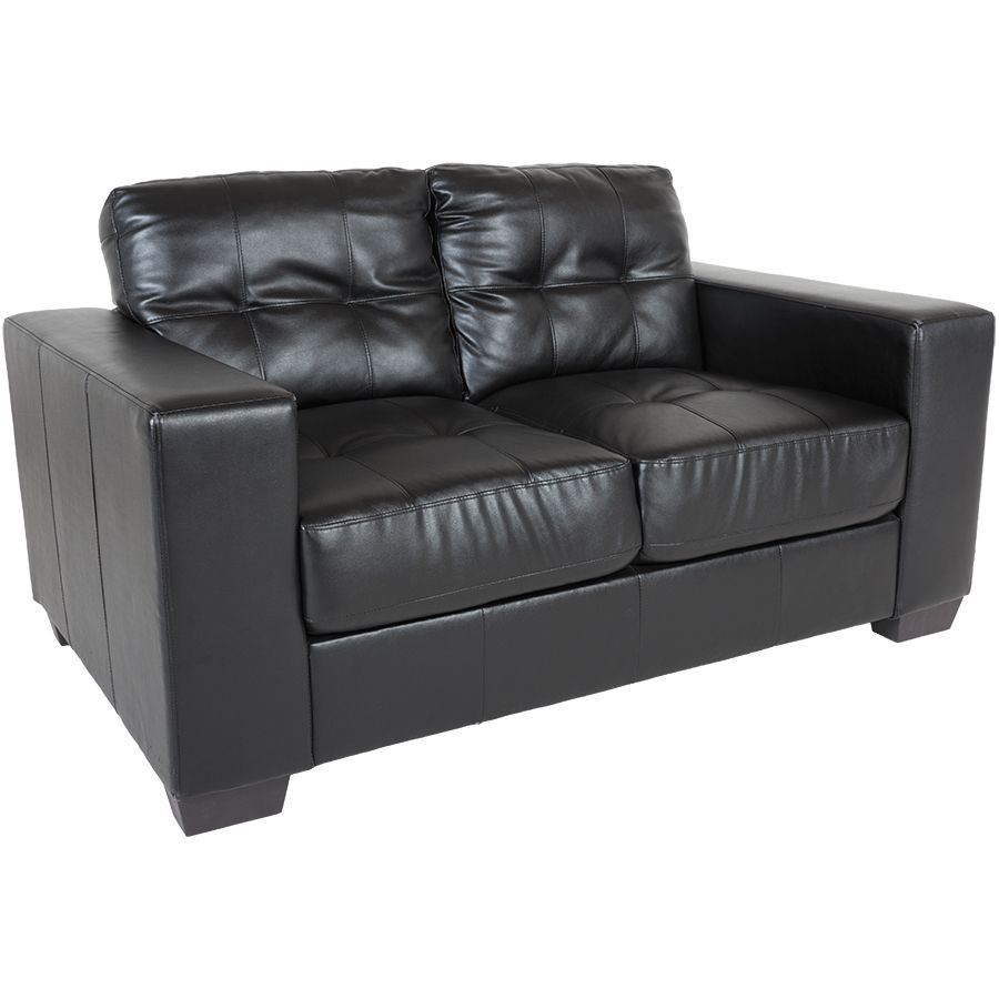 Picture of Ashton Black Loveseat