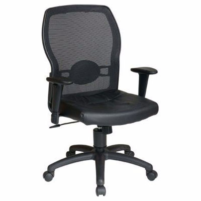Picture of Black Mesh Office Chair 599402 *D