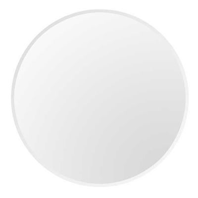 """Picture of 54"""" round 1"""" beveled clear glass"""